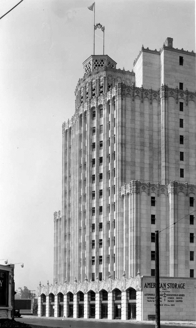 1929 View Of The American Storage Building Arthur E Harvey Architect Typifies Extent Companies Would Go To Disguise