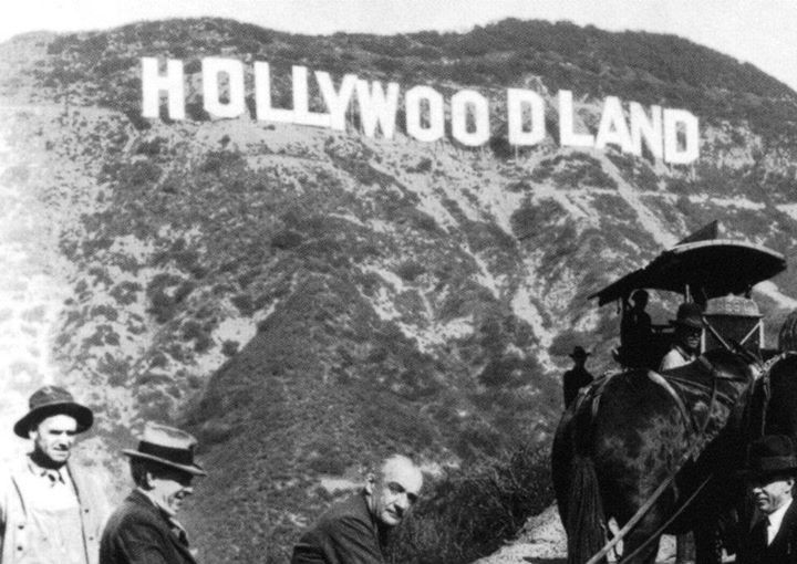 American Culture Icon The Hollywood Sign