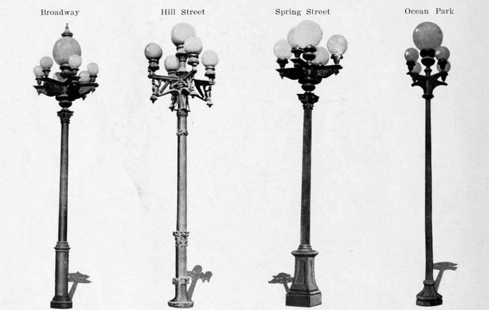 Image gallery old street light fixtures for Types of light fixtures