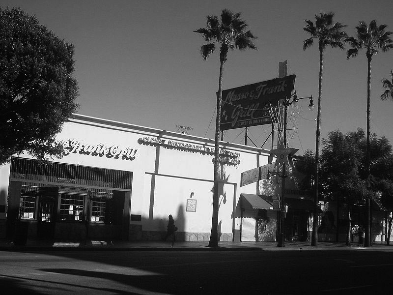Historical notes - Musso and frank grill hollywood ...
