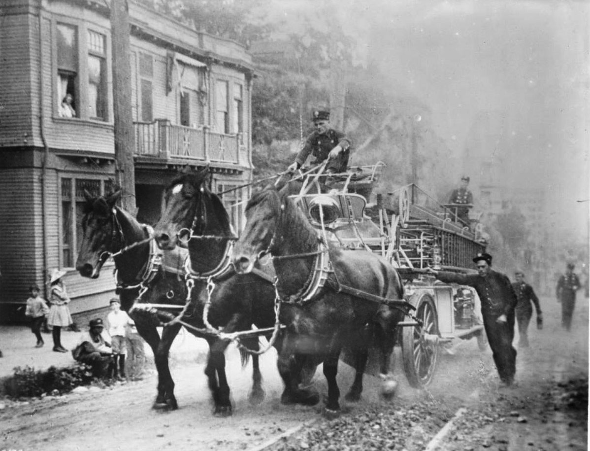 History Of The Black Firemen On The Los Angeles Fire: Water And Power Associates