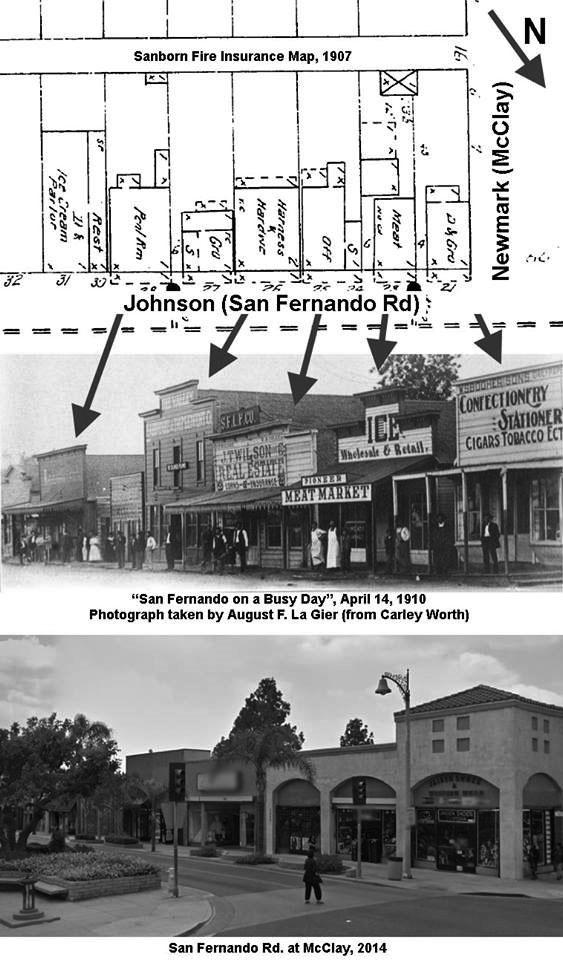 59989376db 2014)     - View showing San Fernando Road at McClay.