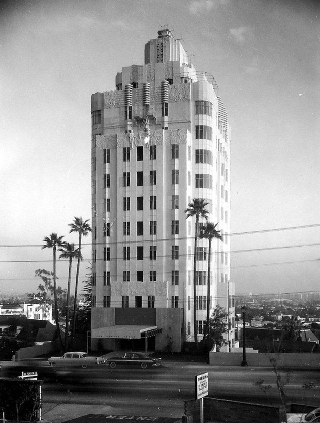 Sunset Towers Hotel Hollywood Ca