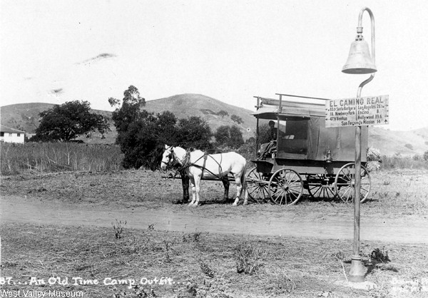 California County Jail horse /& buggy Riverside ca 1909 Photo