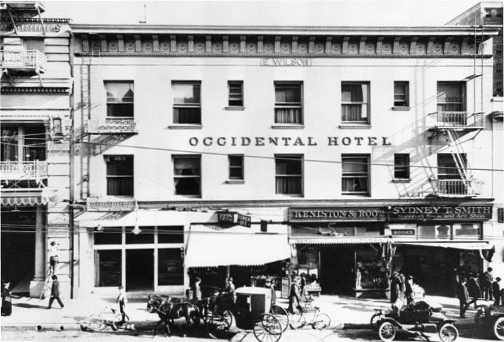 Occidental Ca History 1910 Hotel Source Abuse Report