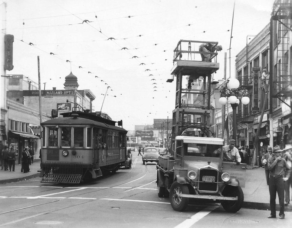 Los angeles streetcars